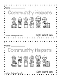 Community Helpers Book Differentiated