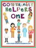 Community Helpers Book Set 1