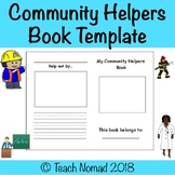 Community Helpers Book Template