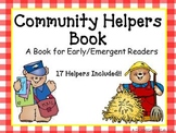 Community Helpers Book (a resource for early/emergent readers)