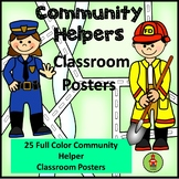 Community Helpers Bulletin Board Posters