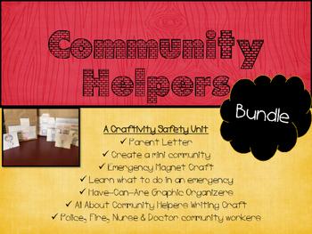 Community Helpers Bundle: A Safety Unit