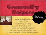 Community Helpers Bundle: A Safety Unit