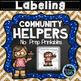 Community Helpers Bundle - No Prep Printables and Task Cards