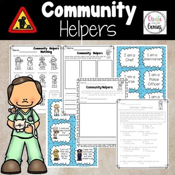 Community Helpers Bundle Pack