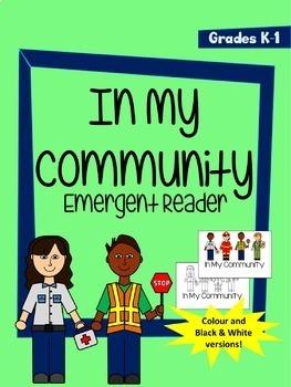 Community Helpers Bundle for K-2 - Clip Art, Workbook, Flipbook, and Reader