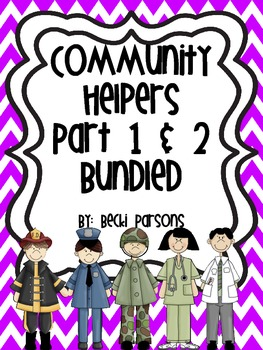 Community Helpers Bundled