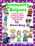 Community Helpers CC Social Studies, Literacy & Math
