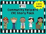Community Helpers CVC Story Pack