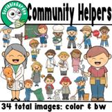 Community Helpers Career ClipArt
