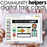 Community Helpers Career Digital Activity for Google Class