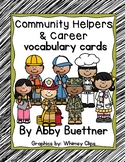 Community Helpers & Career Vocabulary Cards