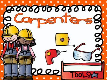 Community Helpers - Carpenters Emergent Reader