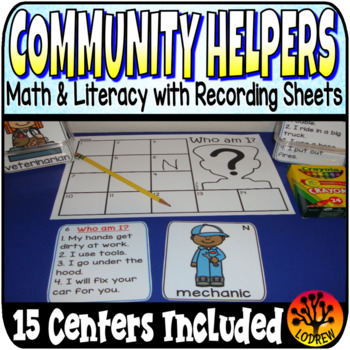Community Helpers Centers Activities Garbage One To One Co