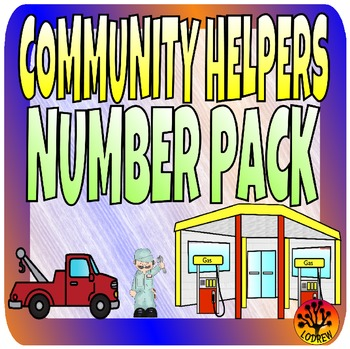 Community Helpers Centers Theme Numbers Math Centers Presc