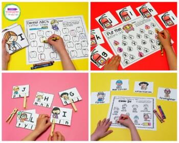 Community Helpers Centers and Activities for Pre-K/Kindergarten
