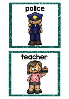 Community Helpers - Character Traits Game