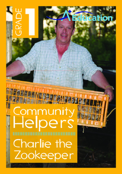 Community Helpers - Charlie the Zookeeper - Grade 1