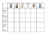 Community Helpers Chart