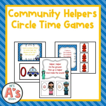 Community Helpers Circle Time Activities