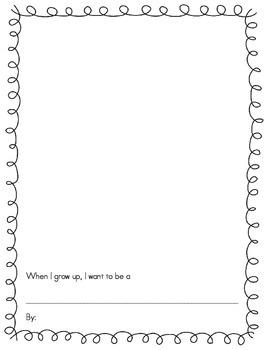 Community Helpers Class Book