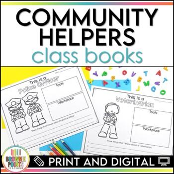 Community Helpers Class Books