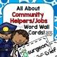 Community Helpers Classroom Bundle for Preschool, PreK, K, & Homeschool!