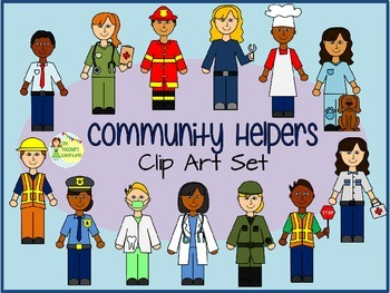 Community Helpers Clip Art - 78 .png images for commercial