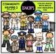 Community Helpers Clip Art Big Bundle {Educlips Clipart}