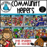 Community Helpers Clip Art Bundle - Chirp Graphics