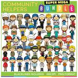 Community Helpers Clip Art MEGA BUNDLE!