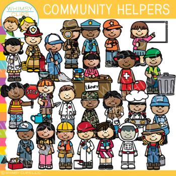 Community Helpers Clip Art - Set One {Occupations Clip Art}