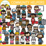 Community Helpers Clip Art Set One {Whimsy Clips Occupations Clip Art}