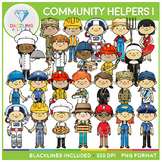 Community Helpers Clip Art (Set I)