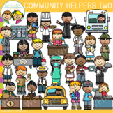 Community Helpers Clip Art Set Two