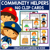Community Helpers Clip Cards & Memory Cards