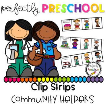 Community Helpers Clip Strips