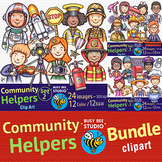 Community Helpers Clipart Bundle