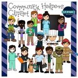 Community Helpers Clipart {L.E. Designs}