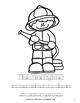 Community Helpers Coloring Book-Level B