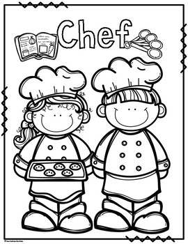 community helpers coloring pages | Community Helpers Coloring Pages by Preschoolers and ...