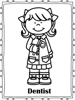 Printable Community Helper Coloring Pages For Kids | Cool2 - Ota Tech | 350x263