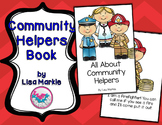 Community Helpers Comprehension Emergent Reader Printable Book
