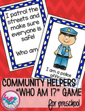 Community Helpers Comprehension Activity