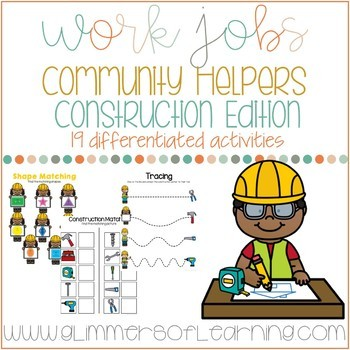Community Helpers: Construction Workers Edition Work Jobs