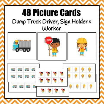 Patterns: Community Helpers Construction Workers Pattern Cards