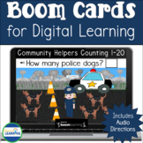 Community Helpers Counting Boom Cards