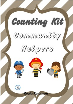 Community Helpers Counting Kit Counting to 20