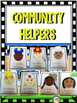 Community Helpers Craftivity Book