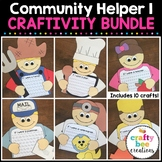 Community Helpers Craftivity Bundle
